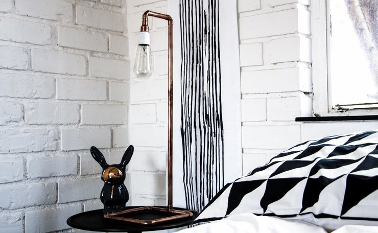 Stripe tapestry