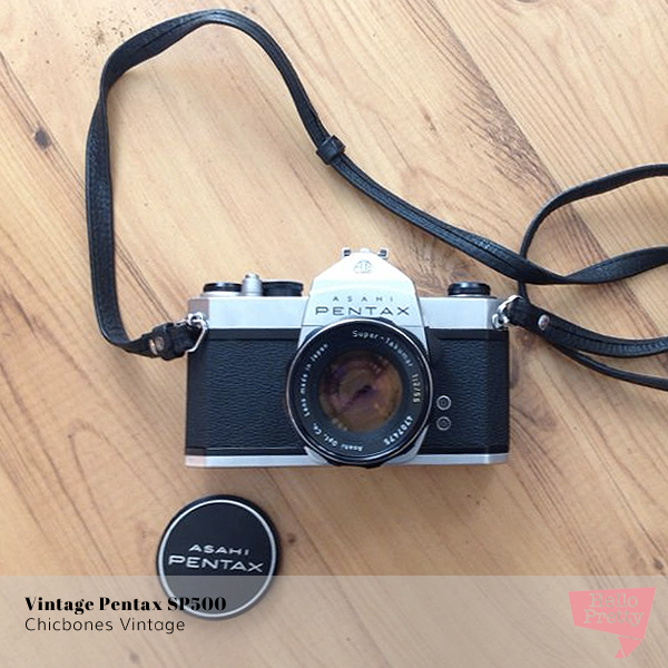 Vintage Pentax SP500 on Hello Pretty
