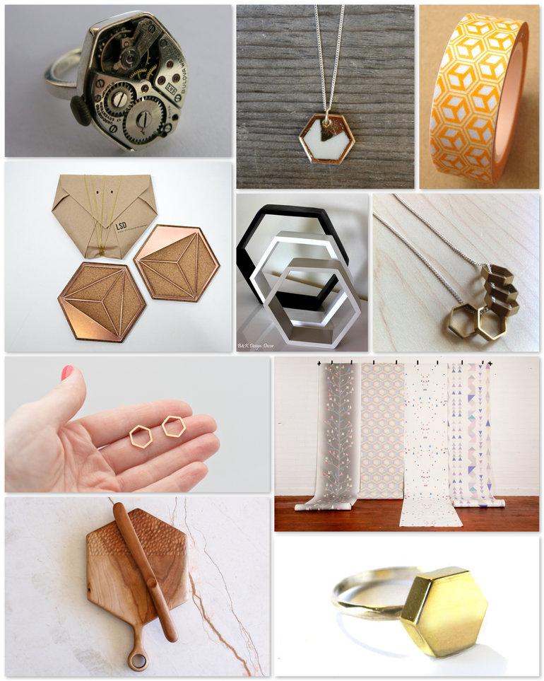 Hexagon madness with http://hellopretty.co.za!