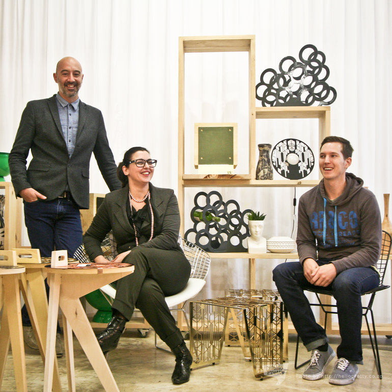 Leon Erasmus, Giulia Odendaal, and Tim Richert of Leg Studios
