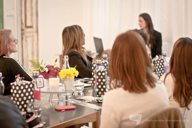 Nadia van der Mescht's creative workshops on hellopretty.co.za