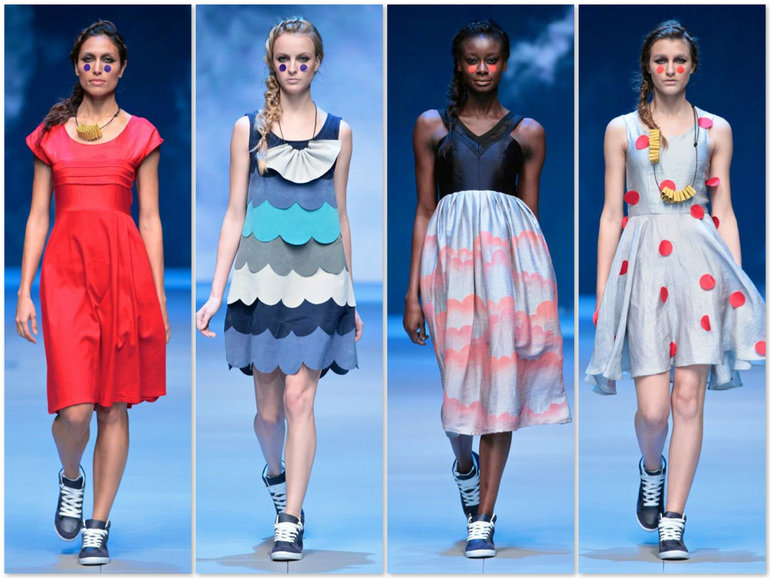 Lo's Spring/Summer collection 2014-15 at #MBFWCT