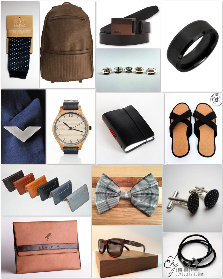 Men's Accessories with Hello Man
