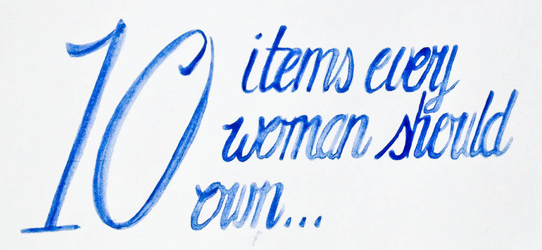 10 items every woman should own
