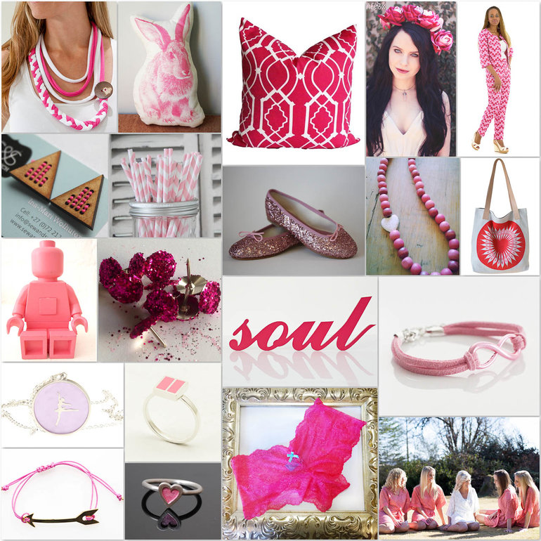 Hello Pretty, pink, October, Design, Fashion, Jewellery, Decor, CANSA, breast cancer