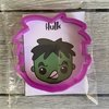 Hulk cookie cutter by The Cookie Cutter Co