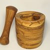 Wooden Mortar and Pestle - 'Spalted' by bykrause