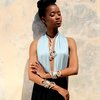 "AfriDiva Necklace in ""Silver"" by AfriDiva - Fashion & Design from Newcomer Designer in Africa!"