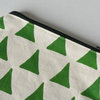 "Round Pouch ""Forest Triangles"" by Sew & Such"