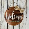 Wooden sign, home decor, door sign by Hope Creations