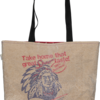 Take-Me-Away Shopper made from real take-away paper bag by Creative Lines