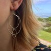 Handmade Sterling Silver - Dangling M's by Jessica Jane Jewellery