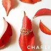 Skeleton leaf ring by Charli Design Studio