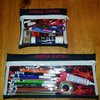 Pencil bag with clear window (Set of 2) by JostSew Made by Laura