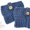 Handmade crochet boot cuffs- Made to order by Croshka Designs