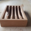 Soap dish - bamboo by Valley Wood