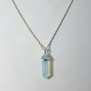 Opalite Crystal with Silver Plated Bale by Lakota Inspirations
