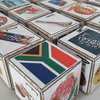 South African Alphabet Wooden Blocks by YogiBlocks