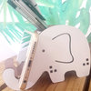 Elephant Pen & Phone Holder (M0505) by Miss Magpie