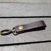 leather keychain by UniqueCraftsZA