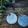 Textured earrings by Must love Creations