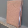 Diary cover hand stitched leather. by Shackletons