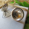 Genuine South African Silver Coin Stud Earrings by Mignon Daubermann Jewellery Design