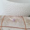 Hand Made Silver Amethyst Ring by La Mae Jewellery