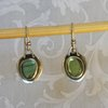 Labradorite and Sterling Silver Earrings by Cecilia Robinson Jewellery
