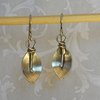 Sterling Silver Handcrafted Anthurium Earrings by Cecilia Robinson Jewellery