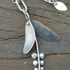 """Seeds"" Sterling Silver Pendant  by Cecilia Robinson Jewellery"