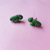 Chameleon studs by turkey dimple