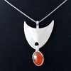 HANDCRAFTED STERLING SILVER PENDANT by Ri Jewellery