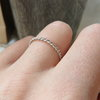 Sterling Silver Twisted Wire Ring by MD Handmade Jewellery
