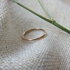 Simple solid 9ct gold ring by MD Jewellery Design
