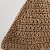 SALE! Crocheted Doorstop, Earth Toned, Brown Recycled Eco Cotton Neutral Doorstop by Maud Creations SA