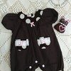 Baby Romper for 6 months baby girl .  by Free Kittens