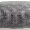 Draft Stopper, Draught Excluder, Dark Gray Woven d65 by Maud Creations SA