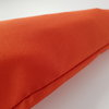 Draft Stopper, Draught Excluder, Vibrant Orange d68 by Maud Creations SA