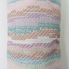 door draft stopper, lavender horizontal stripe fabric by Maud Creations SA