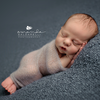 Silk mohair wrap, stretch knit wrap, newborn photo prop. LB-02 by Lavender Blossoms