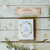 Hand-Painted Christmas Collection Gift Card Set of 5 with envelopes by Caterham Design Co.