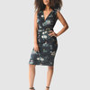 Marique Yssel Mock Wrap Belted Dress - Wild Meadow by Marique Yssel