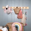 WALL RACK WITH 8 HOOKS by Willow and Wolfe