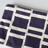"Clutch bag ""Purple Blocks"" by Sew & Such"