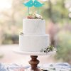 Cake Topper - Kissing Birds (M0074) by Miss Magpie