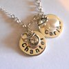 personalized charm necklace by thula