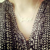 Name or word necklace by thula