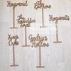 Harry Potter Wedding Table Numbers  by Polkadot Box