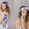 Bunny Ears Flower Crown  by Sunkissed Handmade